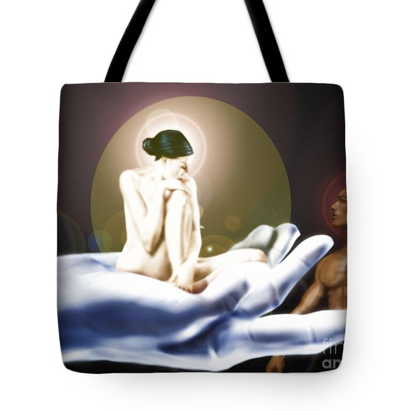 Bone Of My Bone Tote Bag