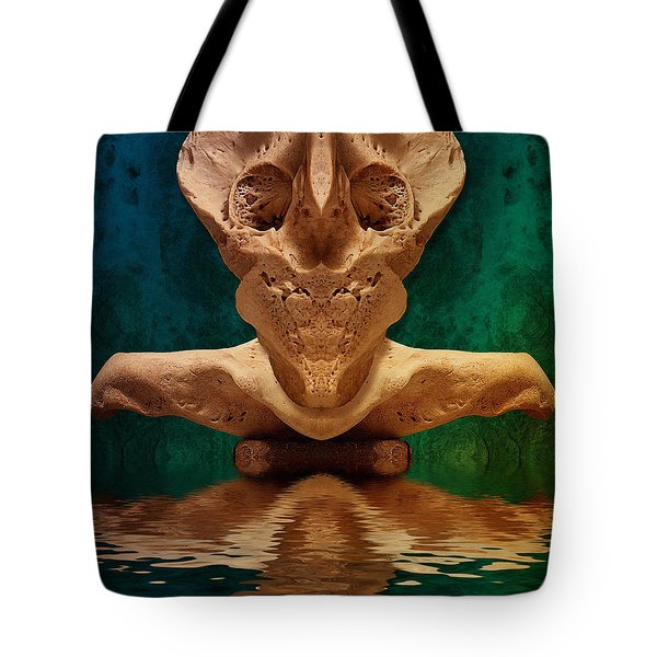 Boneface 7 Tote Bag by WB Johnston