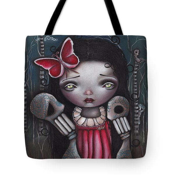Bones Butterflies And Dreams Tote Bag