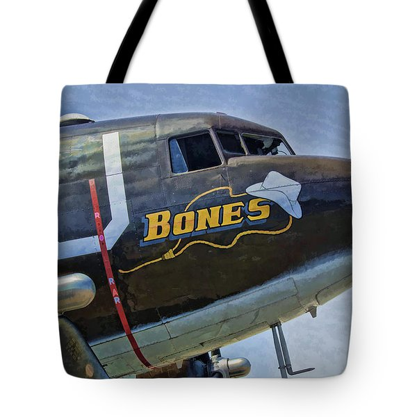 Bones Tote Bag by Steven Richardson