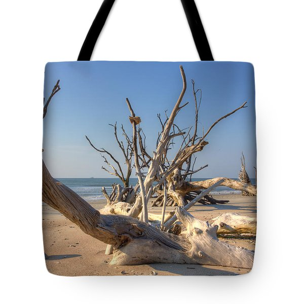 Boneyard Beach Tote Bag