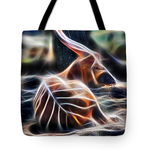 Bongo In Tune With The Energies Tote Bag