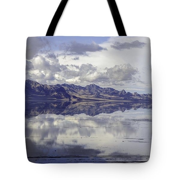 Bonneville Salt Flats Tote Bag