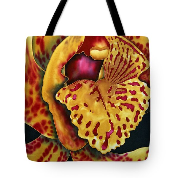 Bonnie Orchid II Tote Bag by Daniel Jean-Baptiste