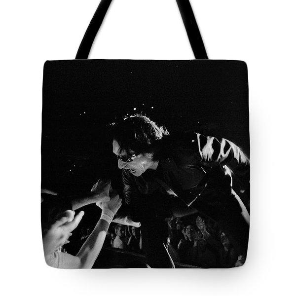 Bono 051 Tote Bag by Timothy Bischoff