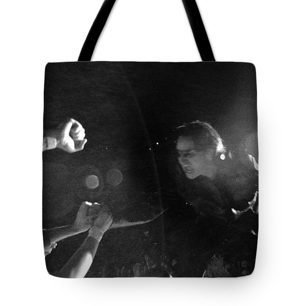 Bono 053 Tote Bag by Timothy Bischoff