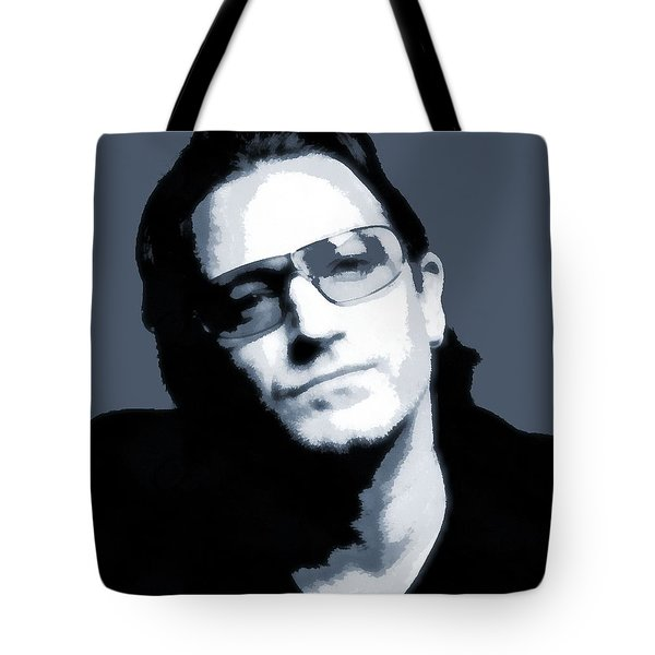 Bono Tote Bag by Dan Sproul