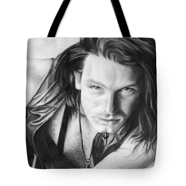 Bono Tote Bag by Janice Dunbar