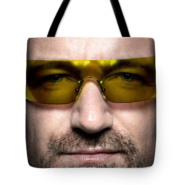 Bono  Tote Bag by Marvin Blaine