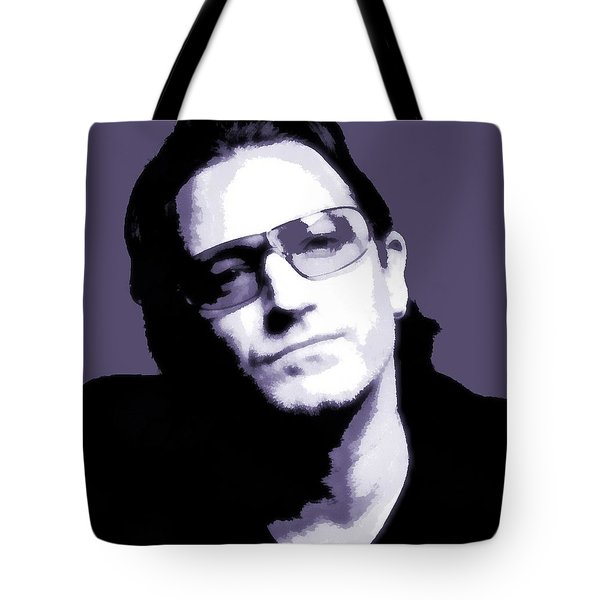Bono Portrait Tote Bag by Dan Sproul