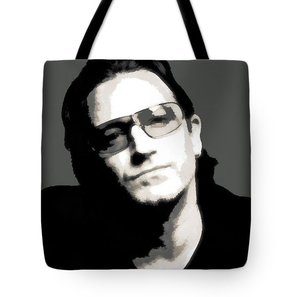 Bono Poster Tote Bag by Dan Sproul