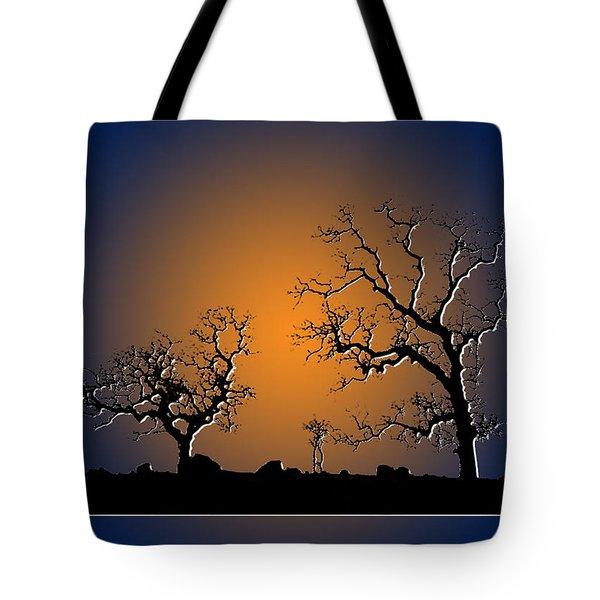 Bonsai Tree Family II Tote Bag