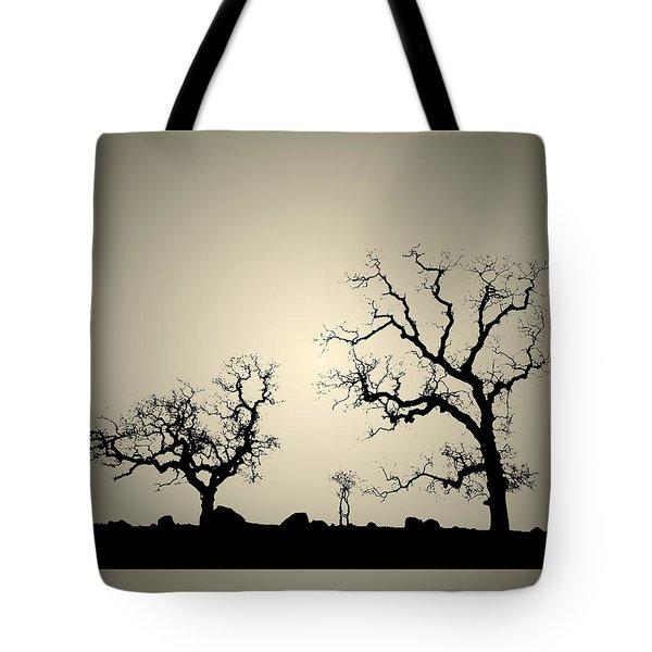 Bonsai Tree Family Tote Bag