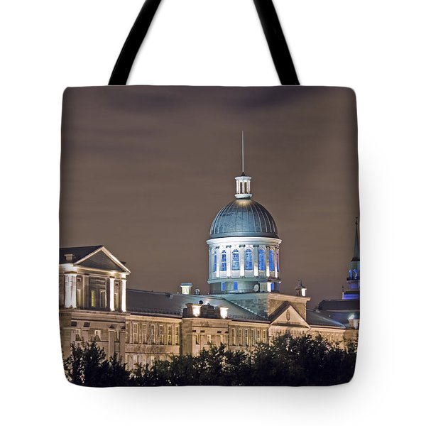 Bonsecours At Night Tote Bag