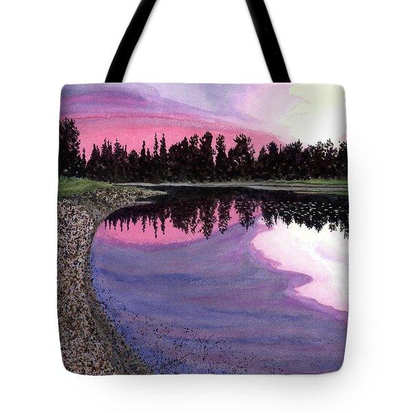 Bonsette's Sunset Tote Bag