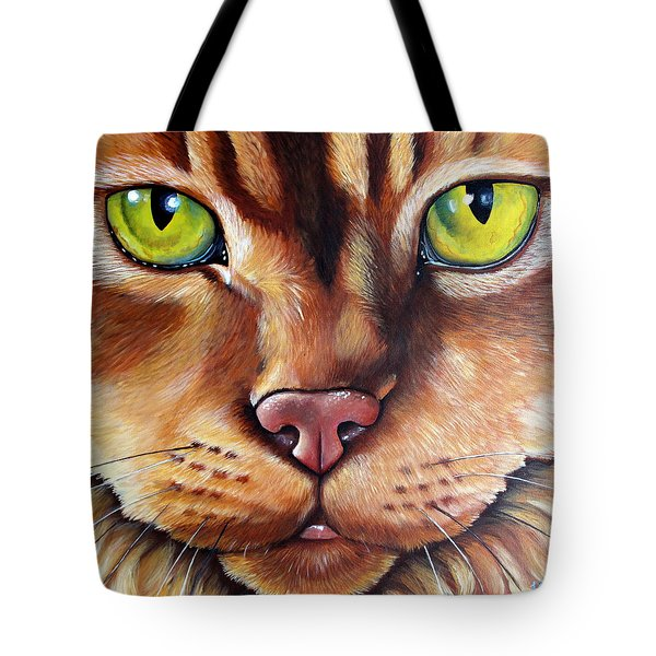 Booboo Tote Bag by Laura Carey