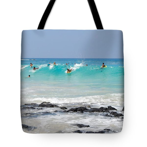 Boogie Up Tote Bag by Denise Bird