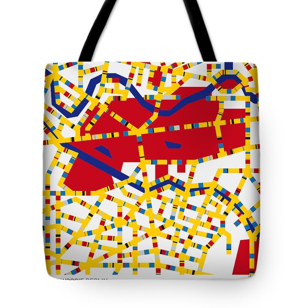 Boogie Woogie Berlin Tote Bag by Chungkong Art