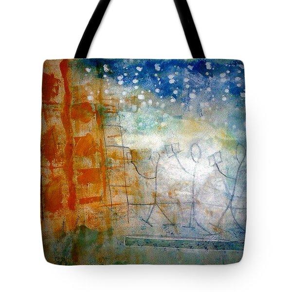 Book Creatures Tote Bag