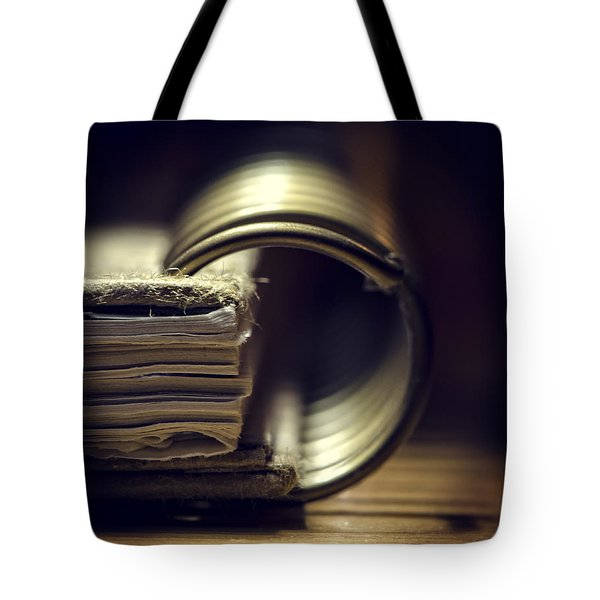 Book Of Secrets Tote Bag