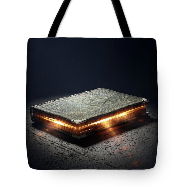 Book With Magic Powers Tote Bag
