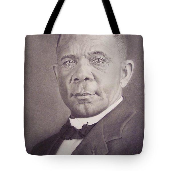 Booker T Washington Tote Bag
