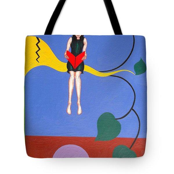 Bookworm Tote Bag by Patrick J Murphy