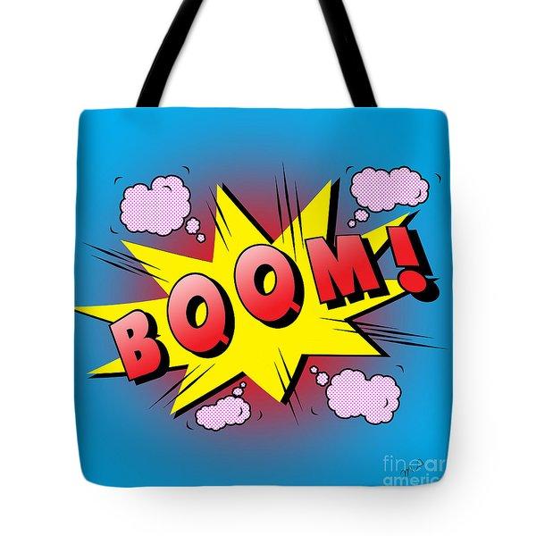 Boom Comics Tote Bag