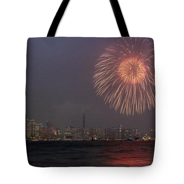 Boom In The Sky Tote Bag