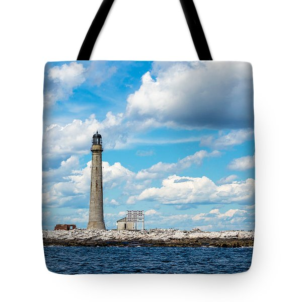 Boon Island Light Station Tote Bag