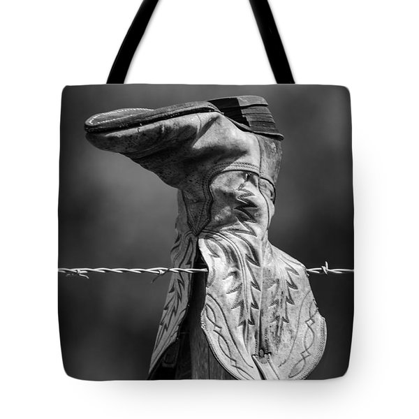 Boot Post Tote Bag
