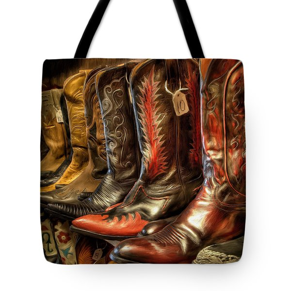 Boot Rack Tote Bag