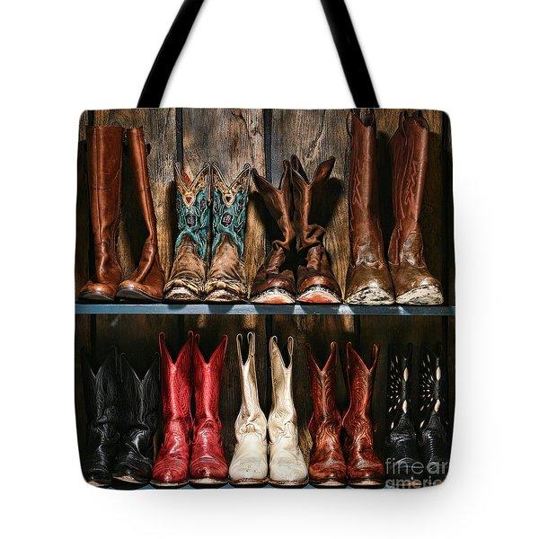 Boot Rack Tote Bag
