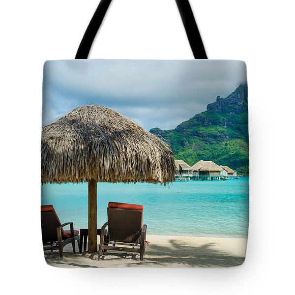Bora Bora Beach Tote Bag