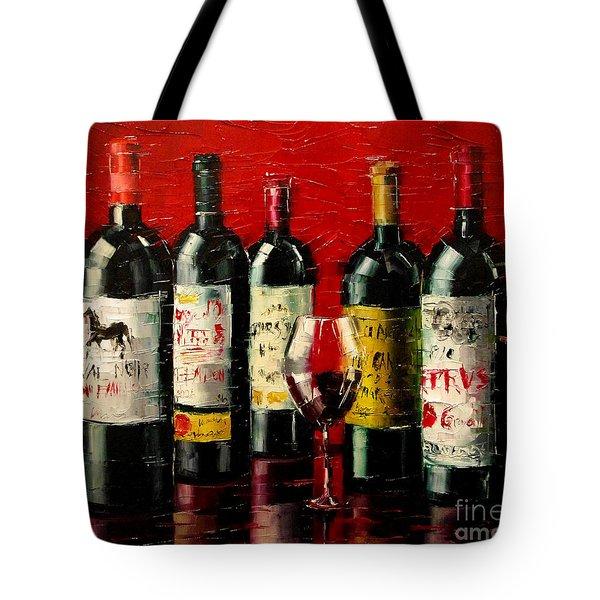 Bordeaux Collection Tote Bag