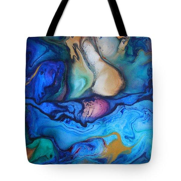 Borealis 2 Tote Bag by Angel Ortiz