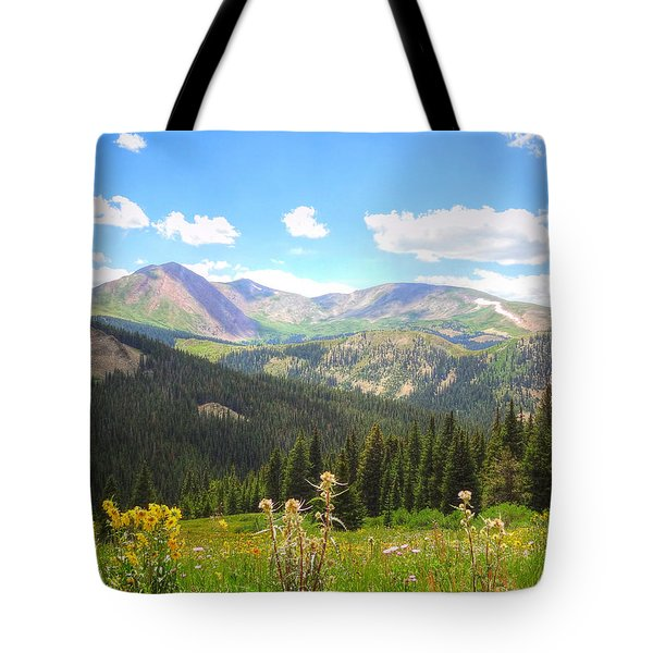 Tote Bag featuring the photograph Boreas Pass Summer by Lanita Williams