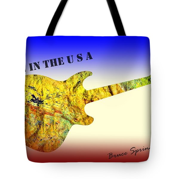Born In The U S A Bruce Springsteen Tote Bag