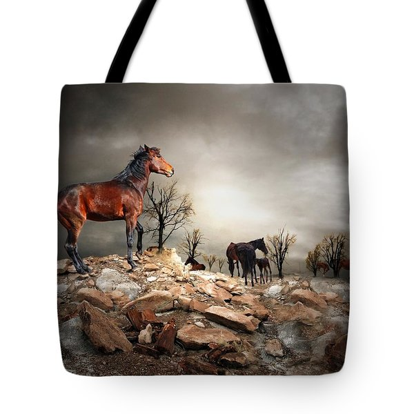 Born To Be Wild Tote Bag