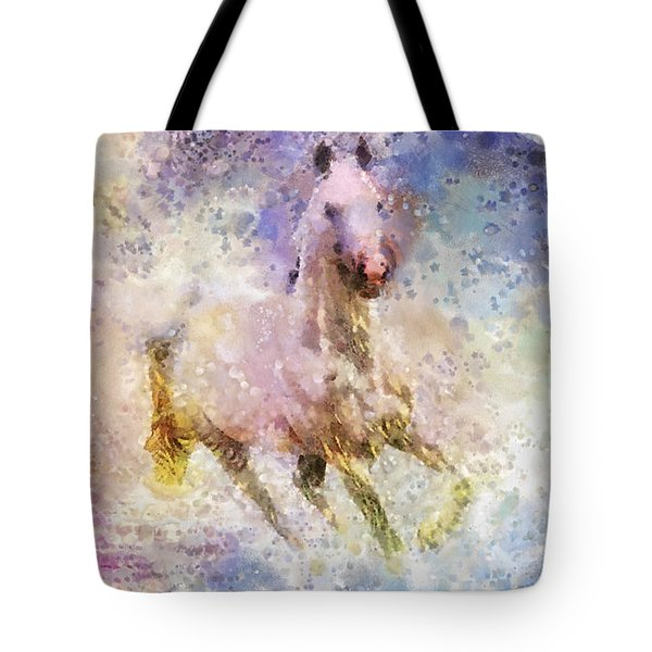 Born To Be Wild Tote Bag by Mo T