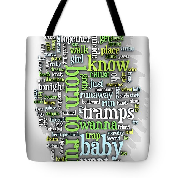 Born To Run Tote Bag by Scott Norris