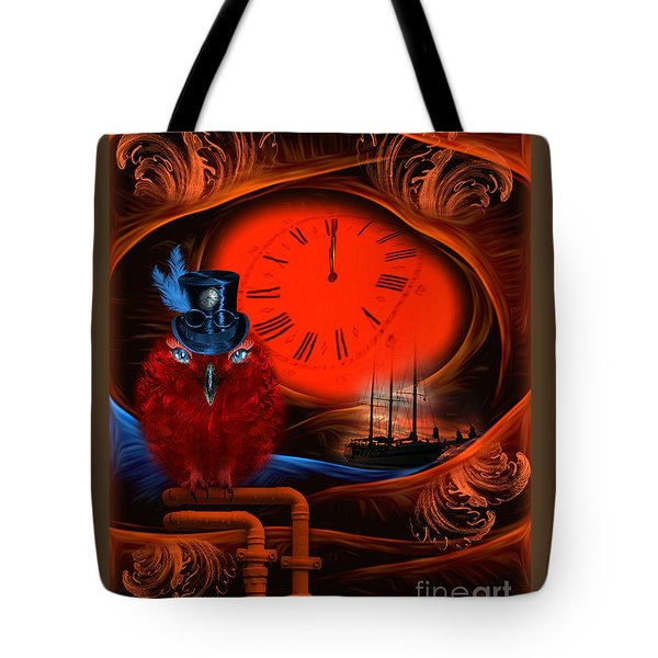 Born To Travel In Time - Fantasy Art By Rgiada  Tote Bag