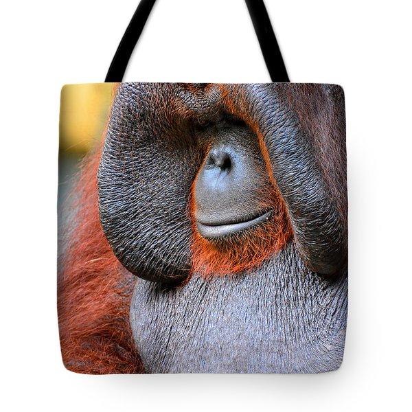 Bornean Orangutan Vi Tote Bag