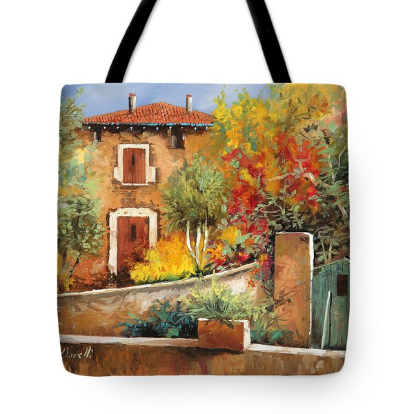 Bosco Giallo Tote Bag