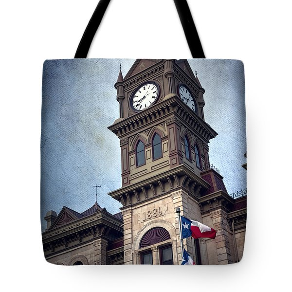 Bosque County Courthouse Tote Bag