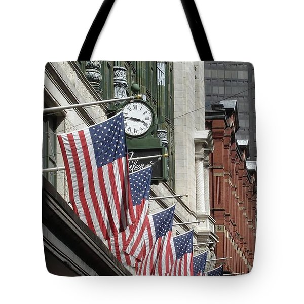 Boston 4th Of July Tote Bag