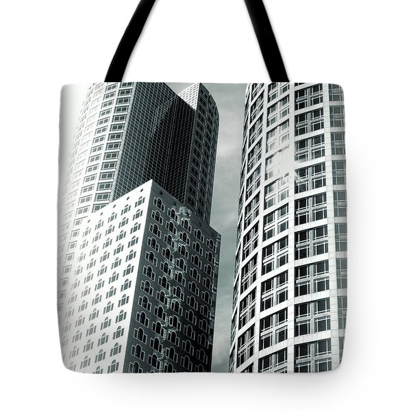 Boston Architecture Tote Bag