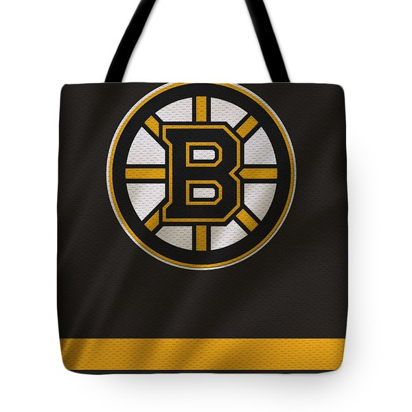 Boston Bruins Uniform Tote Bag