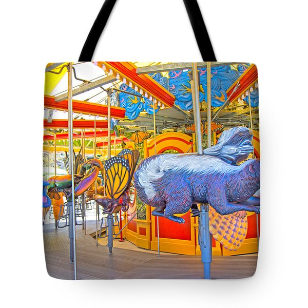 Boston Carousel II Tote Bag