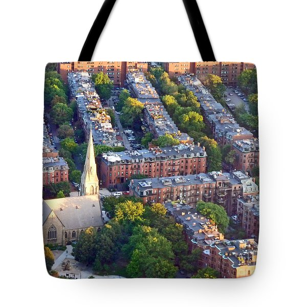Boston Church Tote Bag
